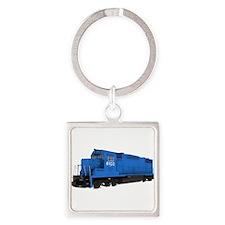 Blue Train Engine Keychains