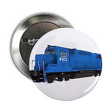 "Blue Train Engine 2.25"" Button"