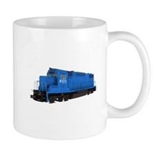 Blue Train Engine Mugs