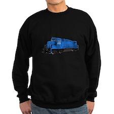 Blue Train Engine Sweatshirt