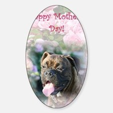 mothers day boxer card Decal