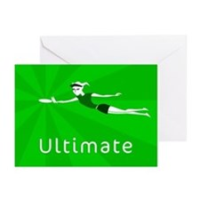 Ultimate Frisbee Greeting Cards (Pk of 10)