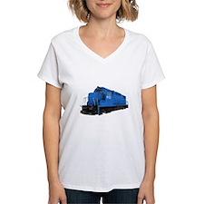 Blue Train Engine T-Shirt