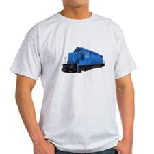 Blue Train Engine T-Shirt