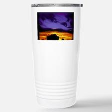 Bison mousepad Stainless Steel Travel Mug