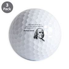 the trouble with the internet Golf Ball