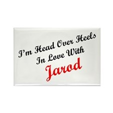 In Love with Jarod Rectangle Magnet