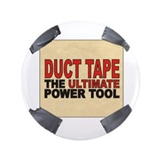 "duct tape 3.5"" Button"