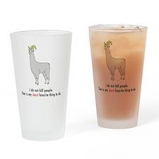 Llamas-D2-iPhone3GCase Drinking Glass