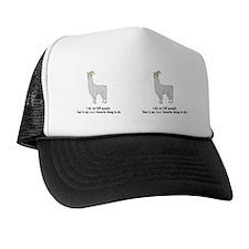 Llamas-D2-Mug Trucker Hat
