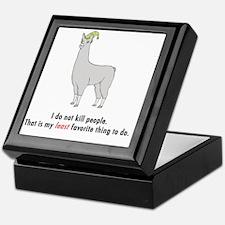 Llamas-D2-WhiteApparel Keepsake Box