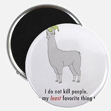 Llamas-D2-WhiteApparel Magnet