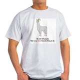 Carl the llama Tops