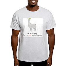 Llamas-D2-WhiteApparel T-Shirt