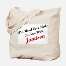 In Love with Jamison Tote Bag