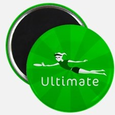 "Ultimate Frisbee 2.25"" Magnet (100 pack)"