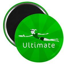 "Ultimate Frisbee 2.25"" Magnet (10 pack)"