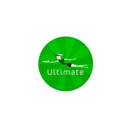 Ultimate Frisbee Mini Button (10 pack)