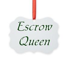Escrow Ornament