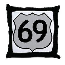 69 Throw Pillow