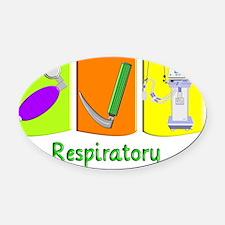 Jody Respiratory 1 Oval Car Magnet