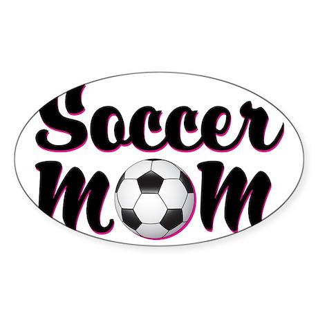 soccer_mom Sticker (Oval)