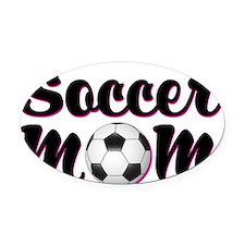 soccer_mom Oval Car Magnet