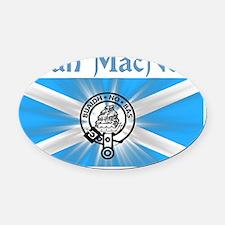 macneil-shirt-001a1a Oval Car Magnet