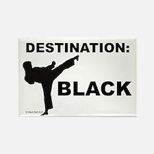 Destination Black 1 Magnets