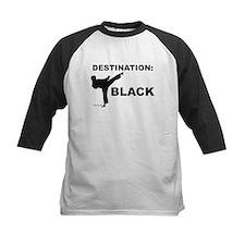 Destination Black 1 Baseball Jersey