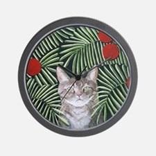 RousseauDreamCat8x10 Wall Clock