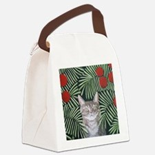 RousseauDreamCat8x10 Canvas Lunch Bag