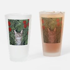 RousseauDreamCat8x10 Drinking Glass