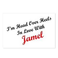 In Love with Jamel Postcards (Package of 8)