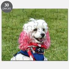 patriotic poodle Puzzle