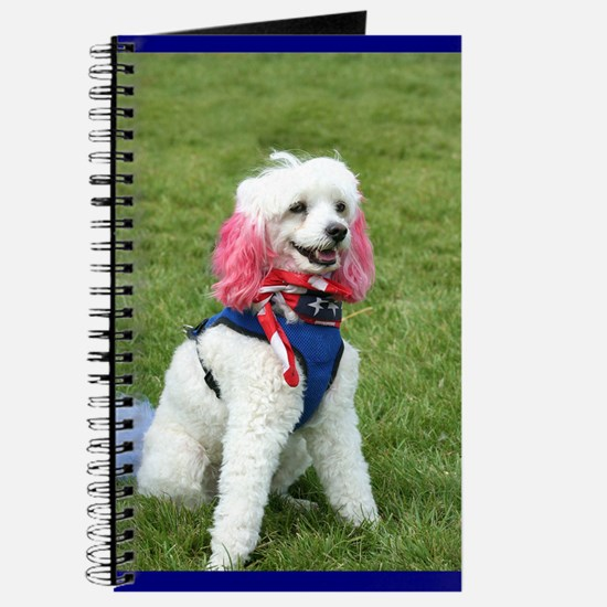 patriotic poodle Journal