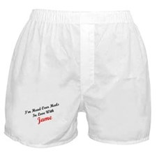 In Love with Jame Boxer Shorts