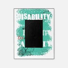 Awareness tee disability is pastel Picture Frame