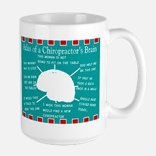 Atlas of a Chiropractors Brain Blanket Mugs