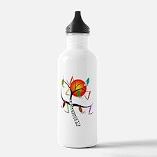 Gails RT Tree ORANGE S Water Bottle