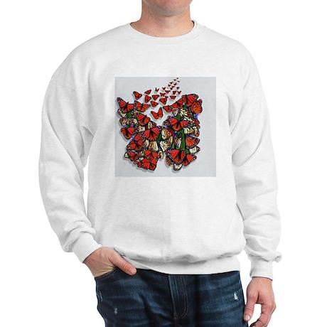 Butterfly mousepad Sweatshirt