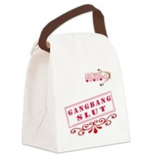 GANGBANG--SLUT Canvas Lunch Bag