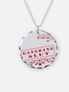 GANGBANG--SLUT Necklace