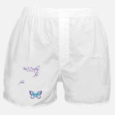 Awareness tee Butterfly Child copy Boxer Shorts