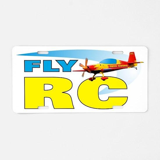 FLYRCplane Aluminum License Plate