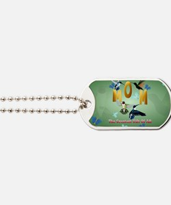 MOM. The greatest gift of all.-Yardsign Dog Tags