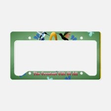 MOM. The greatest gift of all License Plate Holder