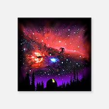 "Observatory tp Square Sticker 3"" x 3"""