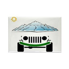 Jeep Rectangle Magnet