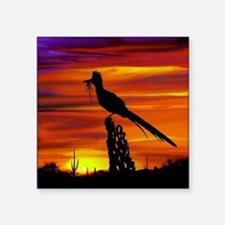 "Roadrunner tp Square Sticker 3"" x 3"""